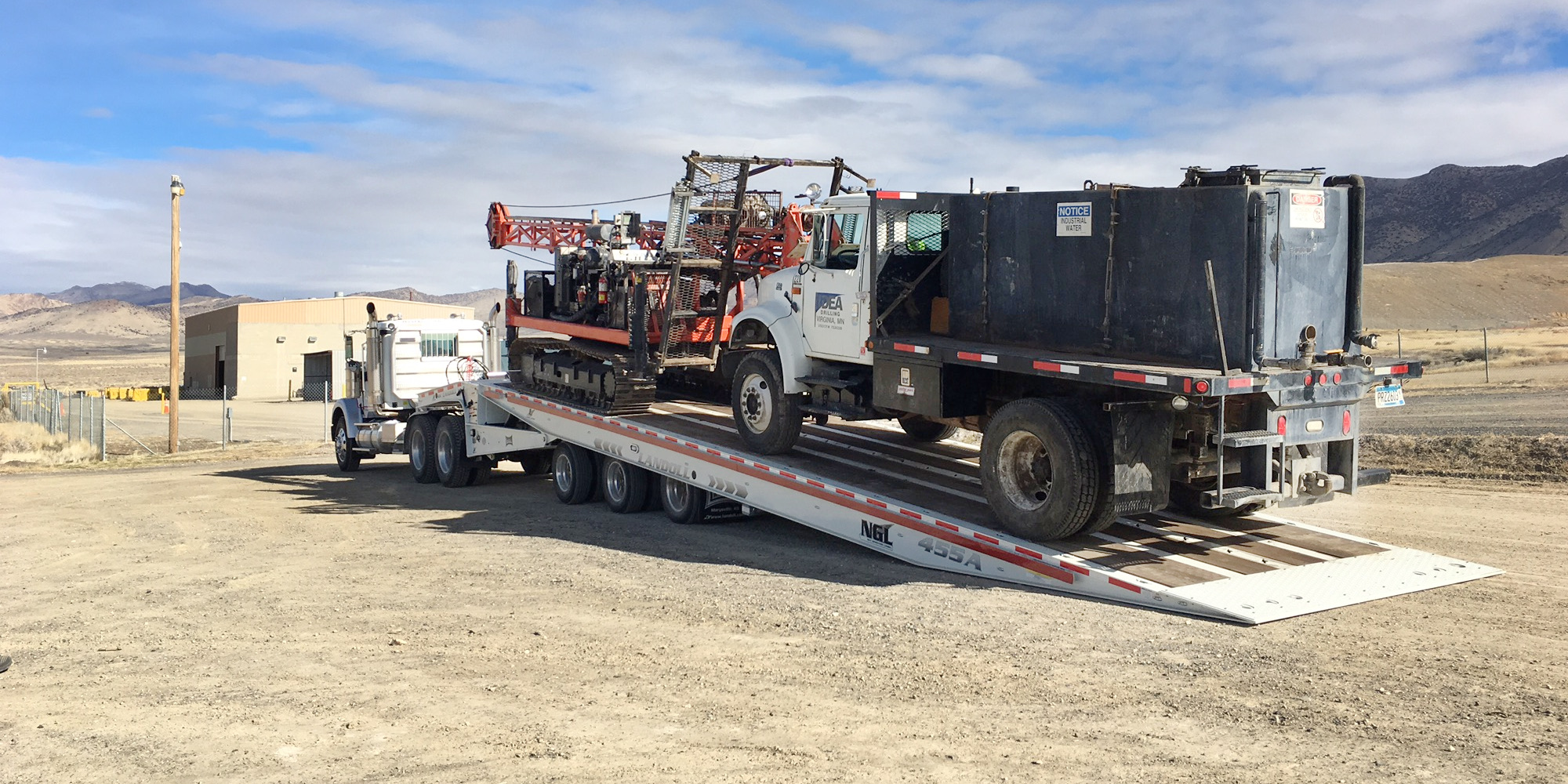 Driller and Water Truck for Hire