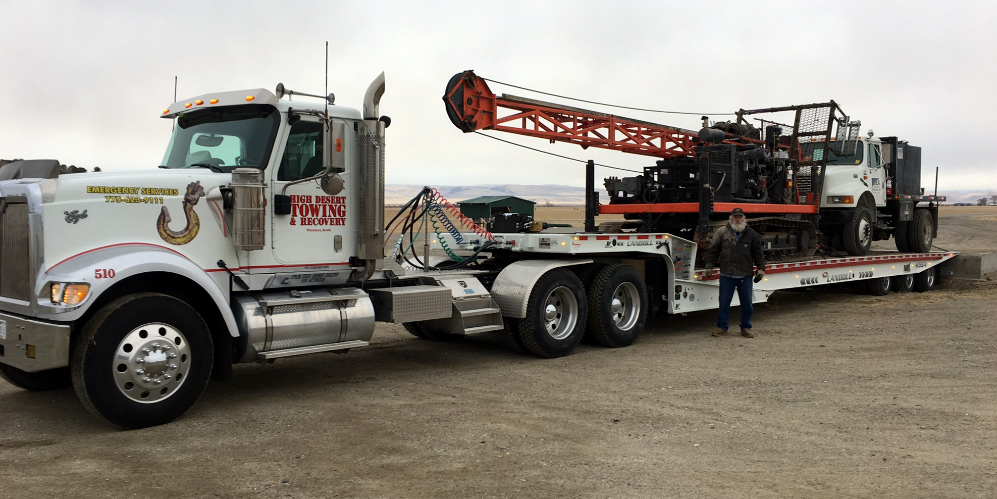Well Driller Rigs for Hire – Willow Creek Ranch
