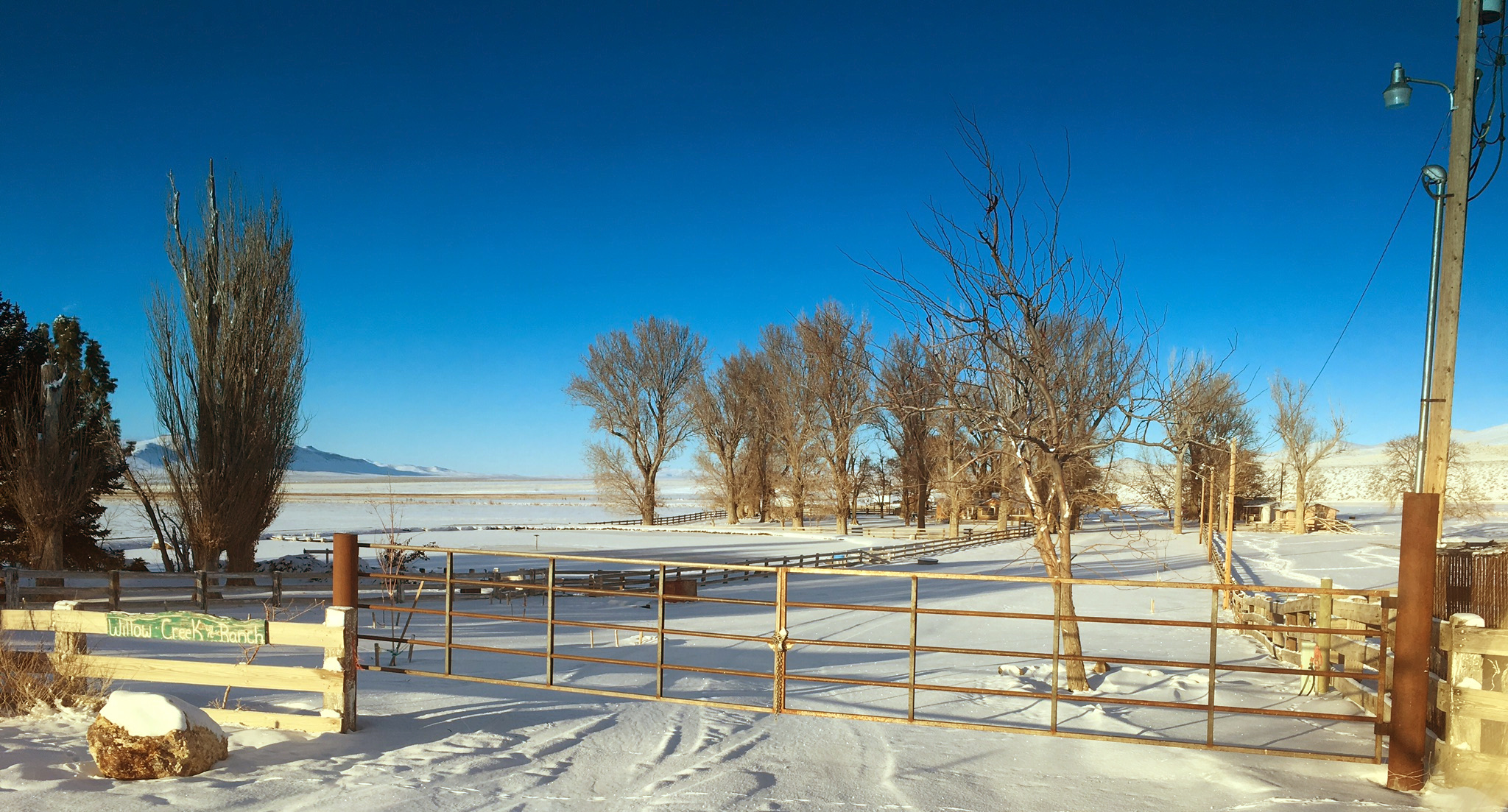 Willow Creek Ranch and Front Gate