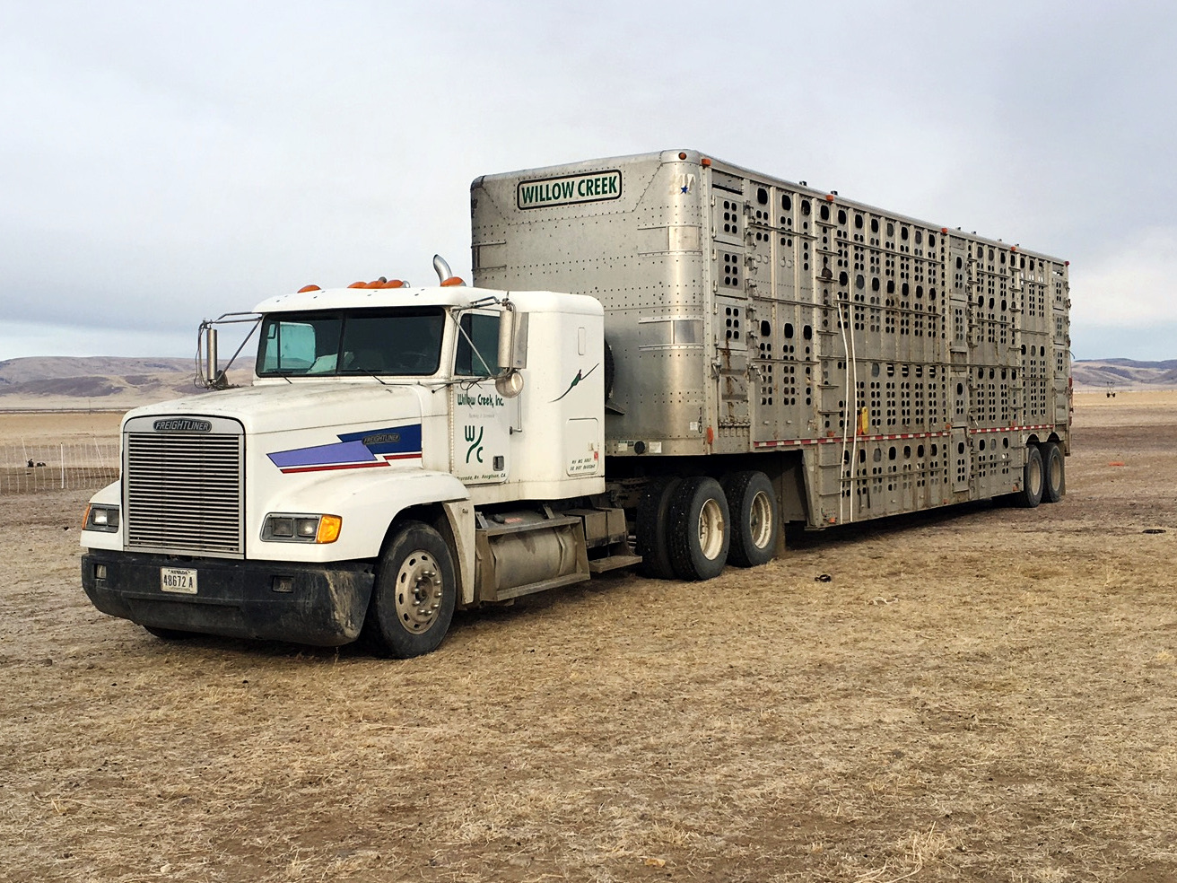 We transport cattle, equipment, hay, and more